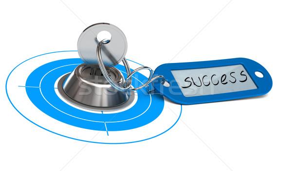 ストックフォト: キー · 成功 · ビジネス · 言葉