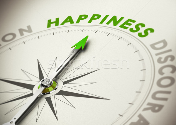 Achieving Happiness Concept Stock photo © olivier_le_moal
