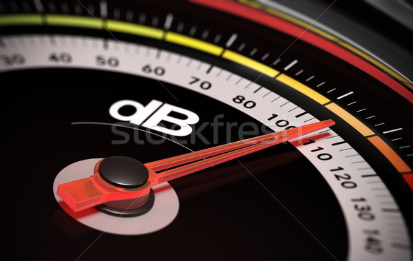 dB, Decibel level Stock photo © olivier_le_moal