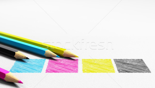 CMYK Stock photo © olivier_le_moal
