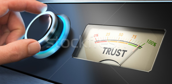 Trust Concept in Business Stock photo © olivier_le_moal