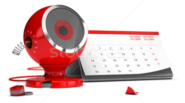жизни продукт красный звук оратора Сток-фото © olivier_le_moal