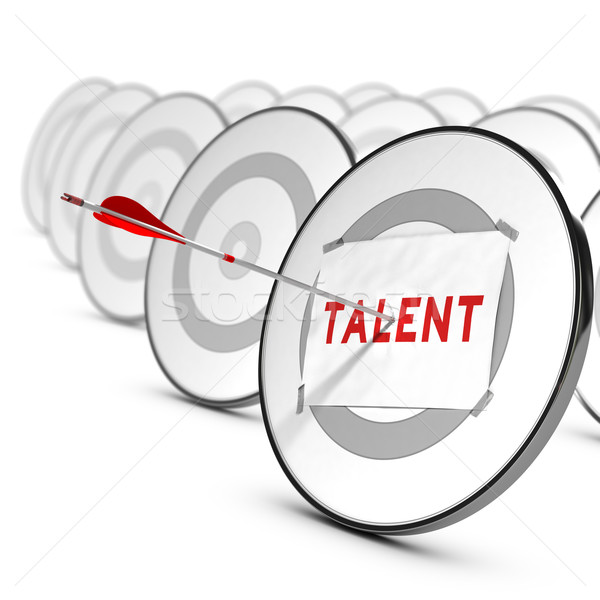 Talents Recruitment Concept Stock photo © olivier_le_moal