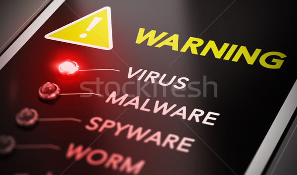 Virus Alert Stock photo © olivier_le_moal