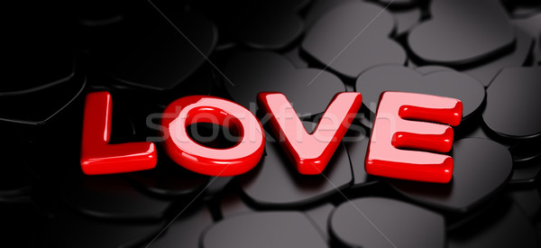 Valentine Background Stock photo © olivier_le_moal