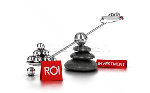 Return on Investment concept Stock photo © olivier_le_moal