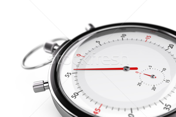 Stock photo: Stopwatch, Less than one minute