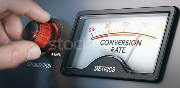 Conversion Rate Optimization Tool Stock photo © olivier_le_moal