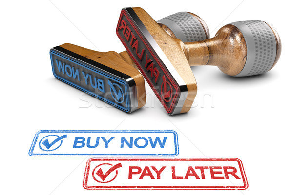 Buy Now Pay Later Stock photo © olivier_le_moal