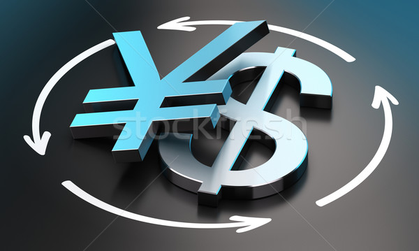 USD JPY Exchange Rate Stock photo © olivier_le_moal