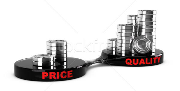 High Quality, Low Cost Stock photo © olivier_le_moal