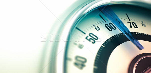 Weight Care, Bathroom Scale Closeup. Stock photo © olivier_le_moal