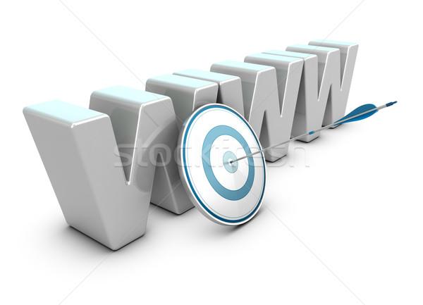 Stok fotoğraf: Web · pazarlama · stratejisi · Internet · iş · www · 3D