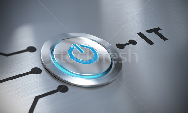 Information Technology, IT Stock photo © olivier_le_moal