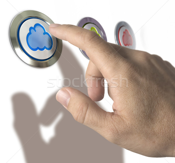 Cloud Computing Stock photo © olivier_le_moal