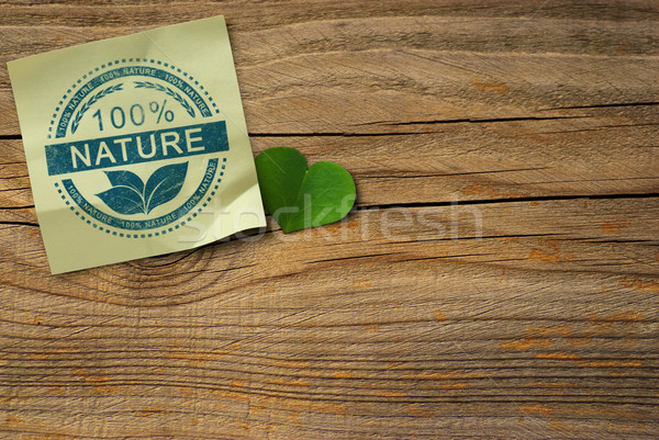 One Hundred Percent Nature Background Stock photo © olivier_le_moal