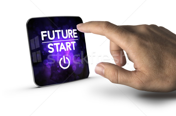 The Future Starts Now Stock photo © olivier_le_moal