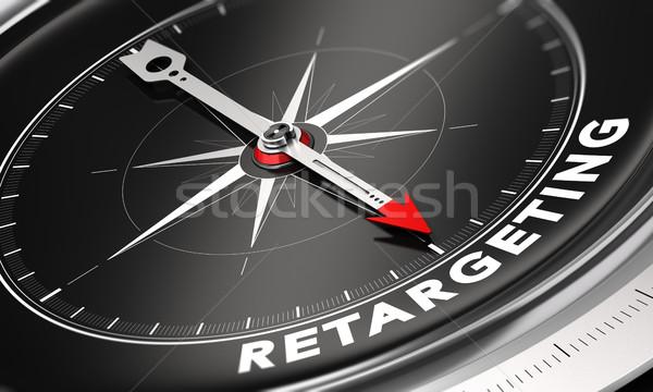 Behavioral Retargeting or Remarketing Concept Stock photo © olivier_le_moal