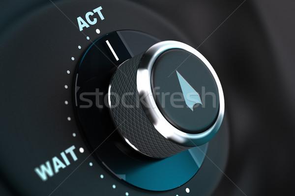 Decision Aids, Concept Image. Proactivity Stock photo © olivier_le_moal