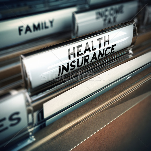 Health Insurance Concept Stock photo © olivier_le_moal