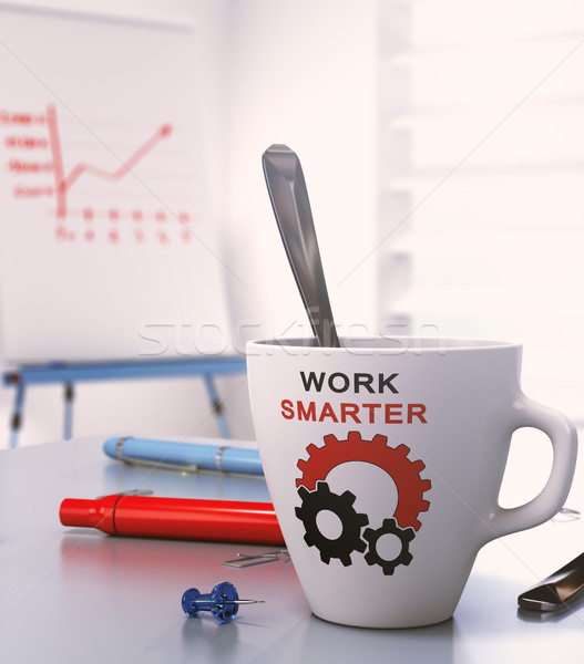 Smart Work Concept Stock photo © olivier_le_moal