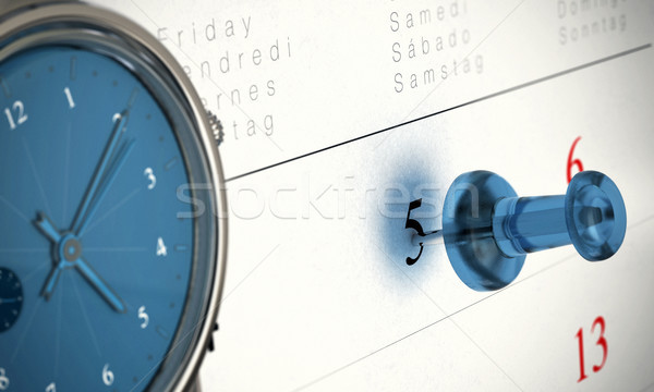 Punctuality Timed Concept Stock photo © olivier_le_moal
