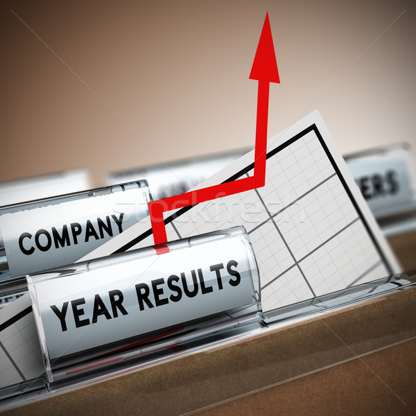 Company Results Improvement Stock photo © olivier_le_moal
