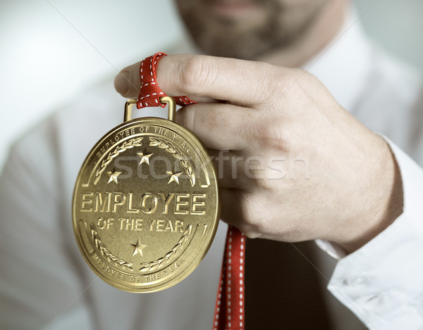 Employee of the Year Recognition Stock photo © olivier_le_moal