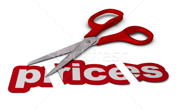 reducing prices, price cutting Stock photo © olivier_le_moal