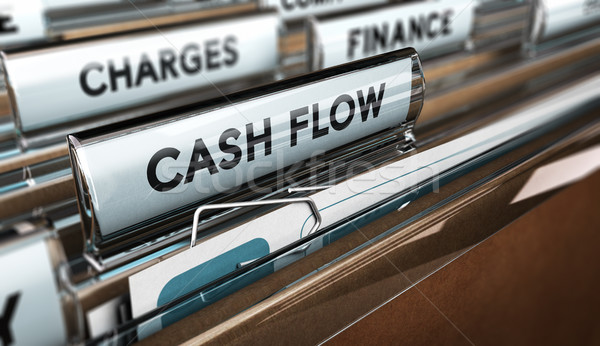 Company Cash Flow Statements Stock photo © olivier_le_moal