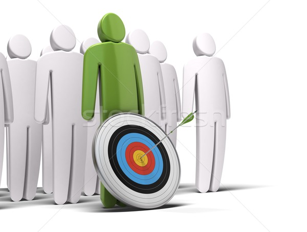 be a leader Stock photo © olivier_le_moal