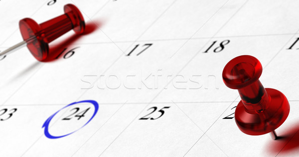 calendar, important date Stock photo © olivier_le_moal