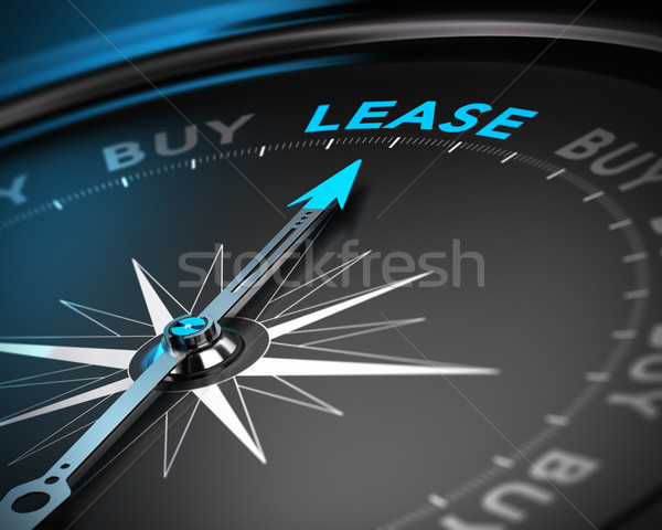 Lease vs Buy Concept Stock photo © olivier_le_moal