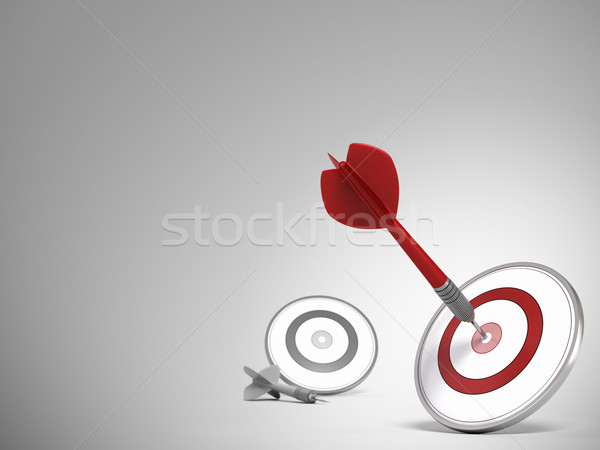 Business Target or Marketing Background Stock photo © olivier_le_moal