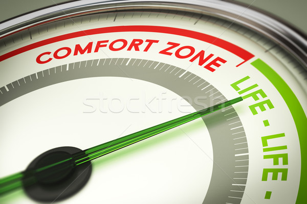 Break Out of Your Comfort Zone, Life Change Stock photo © olivier_le_moal