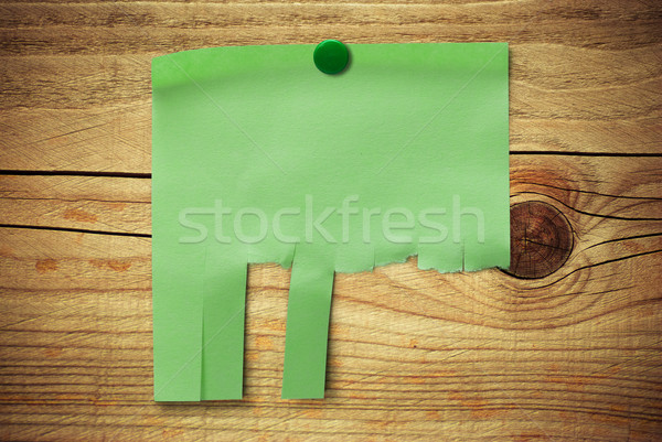 searching for a job, blank customizable note with tearable strips Stock photo © olivier_le_moal