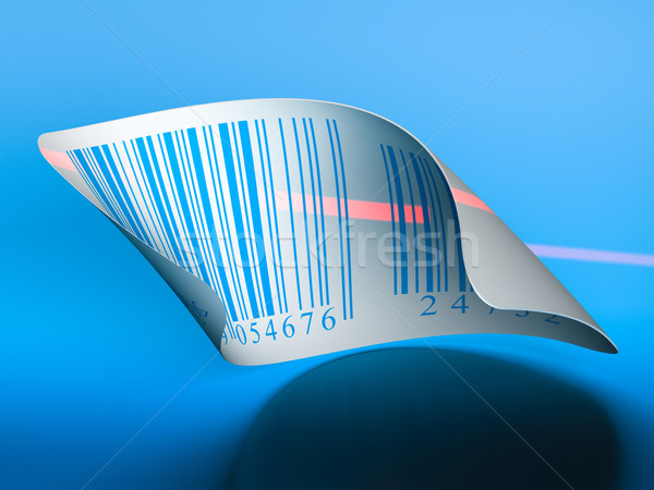 barcodes sticker label Stock photo © olivier_le_moal
