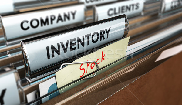 Year End or Periodic Inventory Stock photo © olivier_le_moal