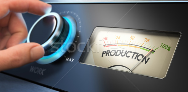 Productivity Improvement Concept Stock photo © olivier_le_moal