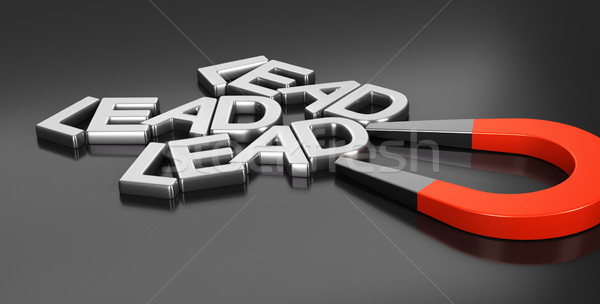 Felvásárlás stratégia patkó mágnes új fekete Stock fotó © olivier_le_moal