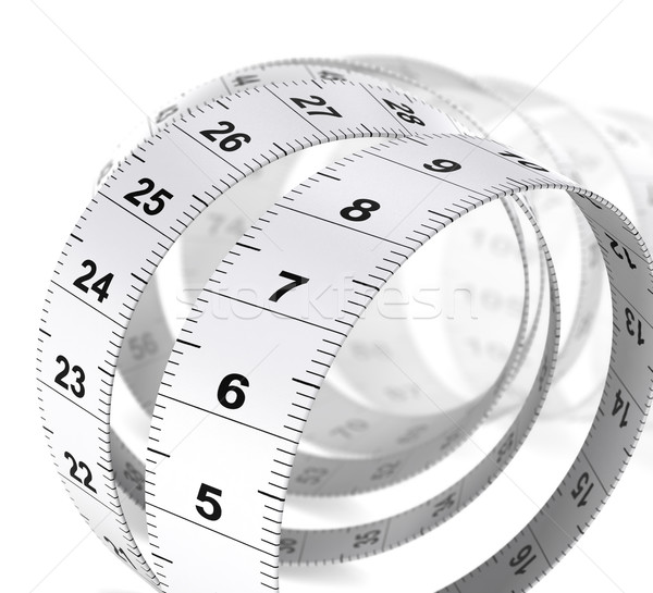 Weight Care Background - Tape Measure Stock photo © olivier_le_moal