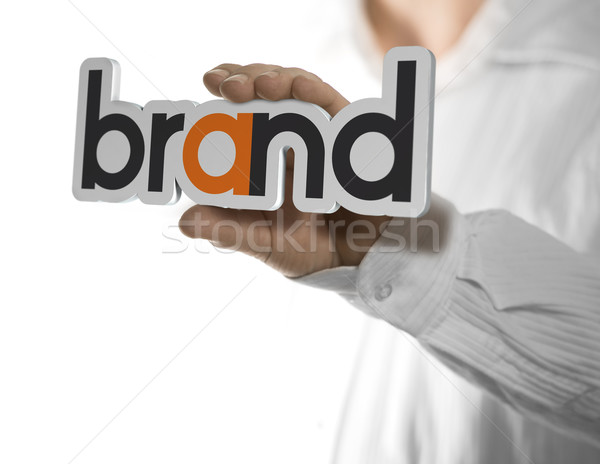 Company brand name Stock photo © olivier_le_moal