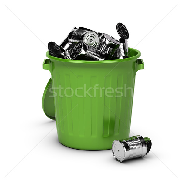 Ferrous Metal Recycling concept Stock photo © olivier_le_moal