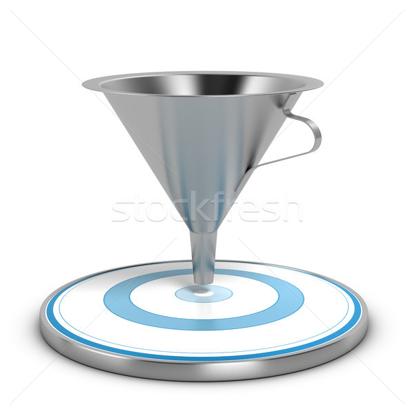 Business Sales Funnel Concept Stock photo © olivier_le_moal