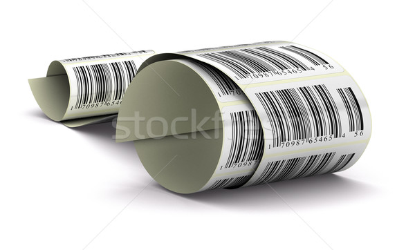 promotional stickers Stock photo © olivier_le_moal