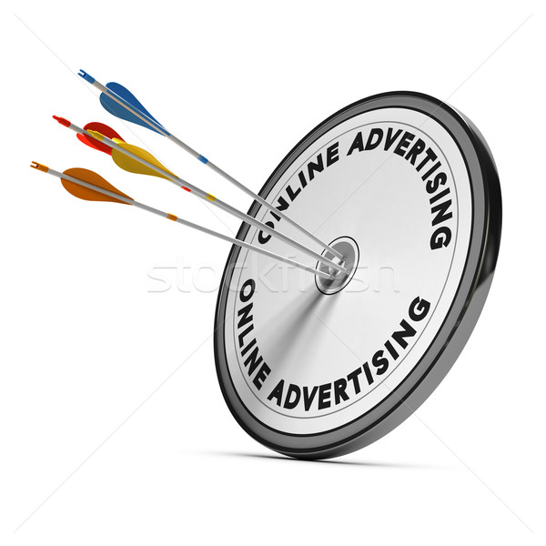 Online Advertising Stock photo © olivier_le_moal