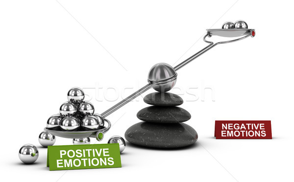 Positive Emotions and Healthy Emotional Well-being, Psychology C Stock photo © olivier_le_moal
