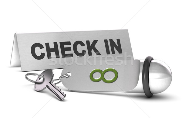 Booking a Roon in a Hotel, Check In Stock photo © olivier_le_moal