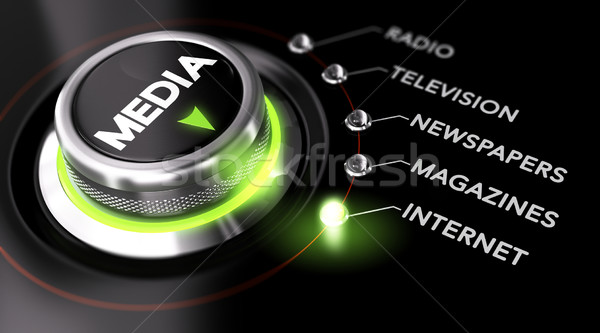 Advertising Campaign, Mass Medias Stock photo © olivier_le_moal