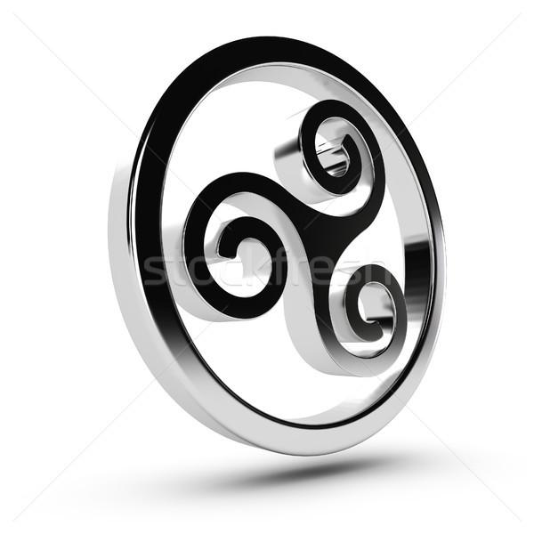 Celtic Triskelion Stock photo © olivier_le_moal